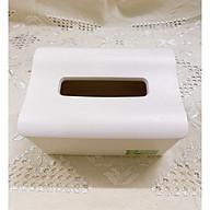 Hộp nhựa đựng giấy ăn hàng cao cấp Size to 26x14x10 ( Giao Màu Ngẫu Nhiên ) _ ANTH231 thumbnail