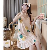 Váy ngủ, đầm mặc nhà 2 dây Haint Boutique thiết kế đuôi cá họa tiết xinh VN20 thumbnail