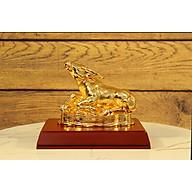 Quà tặng sếp nam cao cấp - Tượng Trâu phong thủy mạ vàng 24k mẫu 01 thumbnail