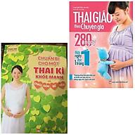 Combo Thai Giáo Cho Mẹ Bầu Chuẩn Bị Cho Một Thai Kì Khỏe Mạnh Và Chào Đón Bé Yêu + Thai Giáo Theo Chuyên Gia - 280 Ngày - Mỗi Ngày Đọc Một Trang thumbnail