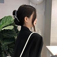 Kẹp tóc càng cua đính hạt châu hot trend Hàn Quốc thumbnail