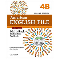 American English File 4B Multi-Pack with Online Practice and iChecker thumbnail