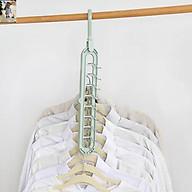 Móc Treo Quần áo Đa Năng 9 Lỗ Tiết Kiệm - MO57 (Giao ngẫu nhiên mẫu) thumbnail