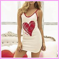 D007 - Đầm thun cotton dễ thương làm đồ mặc nhà, đi chơi dạo phố, đồ đi ngủ quyến rũ, sexy. Thời trang Macmot thumbnail