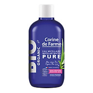Nước tẩy trang hữu cơ cho da nhạy cảm BIO Organic Micellar Water Pure Corine de Farme 100ml thumbnail