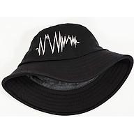 Nón Mũ bucket thêu hình nhịp tim NON0417D thumbnail