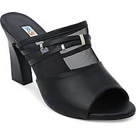 Giày Cao Gót Lưới Hở Mũi Rosata RO116 - Đen thumbnail