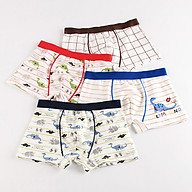 Combo 4 Quần Sịp Trẻ Em Vải Cotton Cao Cấp Đủ Size QL1004.S4 thumbnail