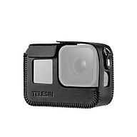 TELESIN Camera Protective Case Shell Cover PU Leather Compatible with GoPro Hero 8 Action Camera thumbnail