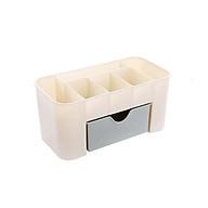 Kệ nhựa đựng mỹ phẩm mini tiện dụng (màu ngẫu nhiên) thumbnail