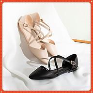 Giày bệt dây đan cá tính mã B9 thumbnail