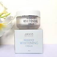 Kem dưỡng trắng da, cấp ẩm mềm da Javin Whitening Cream Hàn quốc cao cấp 50gl Hộp - Hàng Chính Hãng thumbnail
