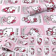 Combo 10m giấy dán tường Kitty 004 có keo sẵn thumbnail