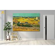 Tranh in canvas - Vụ Thu Hoạch danh họa Van Gogh thumbnail