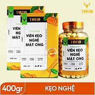 Bộ 2 Hộp Viên kẹo nghệ mật ong Collagen TORO - 200 gram Hộp - Chứa Collagen - [TORO FARM] thumbnail