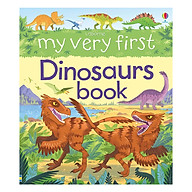 Usborne My Very First Dinosaurs Book (Library Edition Hardback) thumbnail