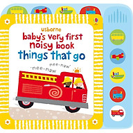 Usborne Baby s very first noisy book things that go thumbnail