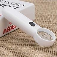 Kính lúp cầm tay có đèn phóng đại 15 lần (nhỏ gọn, hình ảnh rõ nét) - Tặng kèm đèn led cắm cổng USB mini thumbnail