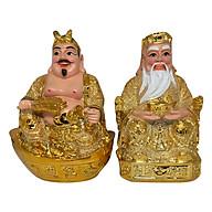 Tượng Thổ Địa Và Thần Tài Kim Sa PT0057 (7inch) thumbnail