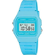 Casio F-91WC-2AEF Mens Pastel Blue Digital Watch thumbnail