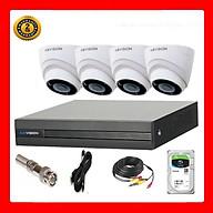 Trọn bộ 4 camera Dome KBVISION Full HD 1080p- Hàng chính hãng thumbnail