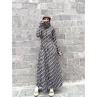 Áo chống nắng nữ toàn thân vải Umi lạnh dày mịn mát che phủ kín chân chống nắng cực tốt mới 2021 thumbnail