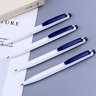Combo 4 bút bi dầu Baoke B59 xanh thumbnail