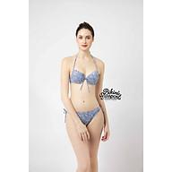 BIKINIPASSPORT Đồ bơi áo tắm Bikini cột dây 2 bên - Da báo BS099_LEO thumbnail