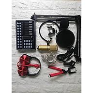 Bộ thu âm mic bm900 waichang + Sound card H9 đầy đủ phụ kiện thumbnail