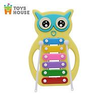 Đồ chơi nhạc cụ- Đàn gõ Xylophone hình cú mèo đáng yêu Toyshouse C601 - Dụng cụ phát triển năng khiếu âm nhạc dành cho bé yêu thumbnail