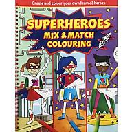 Sách tô màu Superheroes Mix and Match Colouring thumbnail