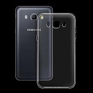 Ốp lưng cho Samsung Galaxy J5 2016- J510 - 01047 - Ốp dẻo trong - Hàng Chính Hãng thumbnail