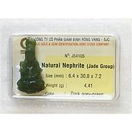 Tượng Phật Ngọc Bích - Tượng Phật Phong Thủy - Đá Phong Thủy Ngọc Bích - J54105 thumbnail