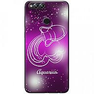 Ốp lưng dành cho Honor 7X mẫu Cung hoàng đạo Aquarius (hồng) thumbnail