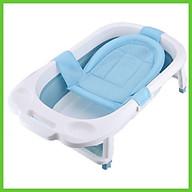Lưới tắm sơ sinh cho bé, phao lưới tắm cho trẻ 3D với 3 khóa giữ an toàn, siêu nhẹ và chắc chắn thumbnail