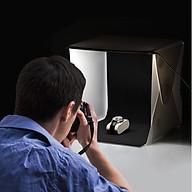 Hộp chụp sản phẩm dải đèn LED siêu sáng 40x40cm thumbnail