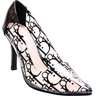 Giày cao gót Mozy phối mica MZG149 thumbnail