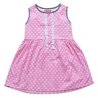 Đầm Xẻ Trụ In Trái Banh Nhỏ CucKeo Kids - T111823 thumbnail