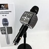 Micro karaoke bluetooth SuYosd YS 95 - Micro kèm loa karaoke - Kết nối bluetooth, USB, SD - Âm thanh cực hay, bắt giọng cực tốt, không hú rè - Tích hợp thu âm - Giao màu ngẫu nhiên - Hàng chính hãng thumbnail