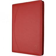 Sổ da 200 trang A4 Klong - TP655 màu đỏ thumbnail