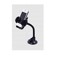 Giá đỡ điện thoại tự do điều chỉnh dáng, đế hút chân không ( tặng kèm đèn 4 led dán tường, dán tủ, cốp xen) thumbnail