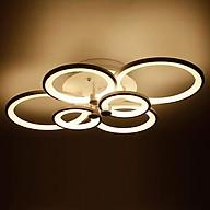 Đèn Ốp Trần 6 Cánh Tròn - DOT00008.6 Kèm bóng thumbnail