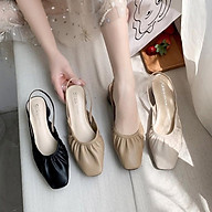 (SẴN) Giày búp bê mũi nhún công chúa G033 thumbnail