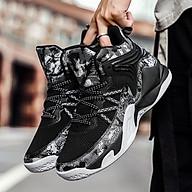 Giày bóng rổ nam A23 - màu đen trắng thumbnail