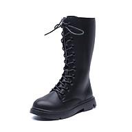 Giày boot cao cổ trẻ em nữ thiết kế đơn giản nhưng vẫn toát lên vẻ đẹp thời thượng thumbnail