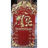 Đốc lịch gỗ Hương đỏ - chữ LỘC - Lịch cỡ trung 14.5cm x 20.5cm thumbnail