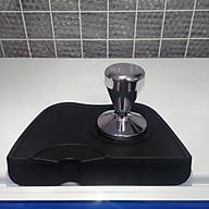 Combo tamper nén cà phê Inox và đế cao su size lớn - Tamper 58mm thumbnail