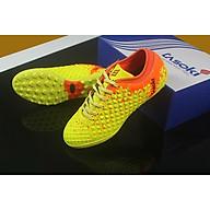 Giày đá bóng sân cỏ nhân tạo TASOKI TK26 vàng cam thumbnail
