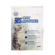 Thức ăn ngăn ngừa dị ứng và chăm sóc da lông cho mèo con Iskhan Cat Grain Free Kitten 300gr thumbnail