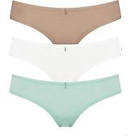 Combo 3 quần lót nữ thun iBasic PANW088 - Xanh Da Trắng thumbnail